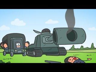 Танковый экипаж_ Танк невидимка _ мультики про танки