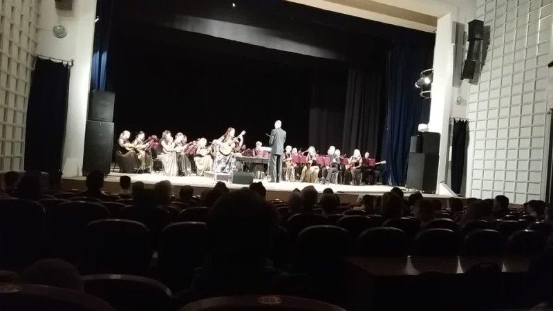 Вера Данилина и Вятский оркестр народных инструментов гл дирижёр Аоександр Чубаров