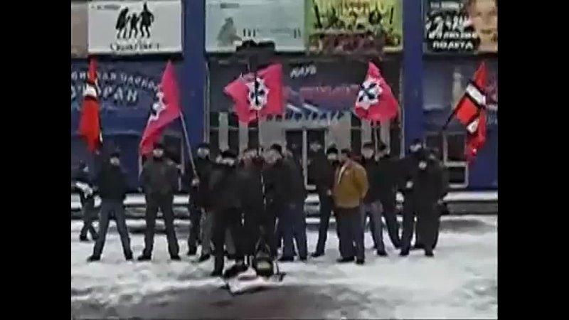Leader of the National Socialist Society Maxim Bazylev May 9