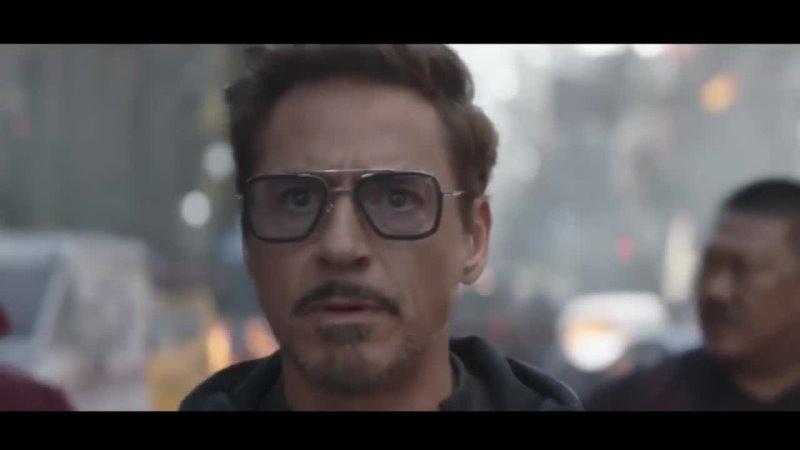 Мстители война бесконечности 2018 железный человек Роберт Дауни младший в новом костюме
