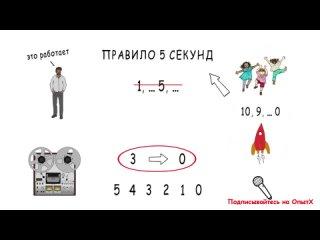 3 простых способа заставить себя начать дела Правило 5 секунд Зейгарник эффект