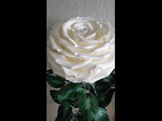 """🌹Торшер """"Белая роза"""". Высота 155 см🌹"""