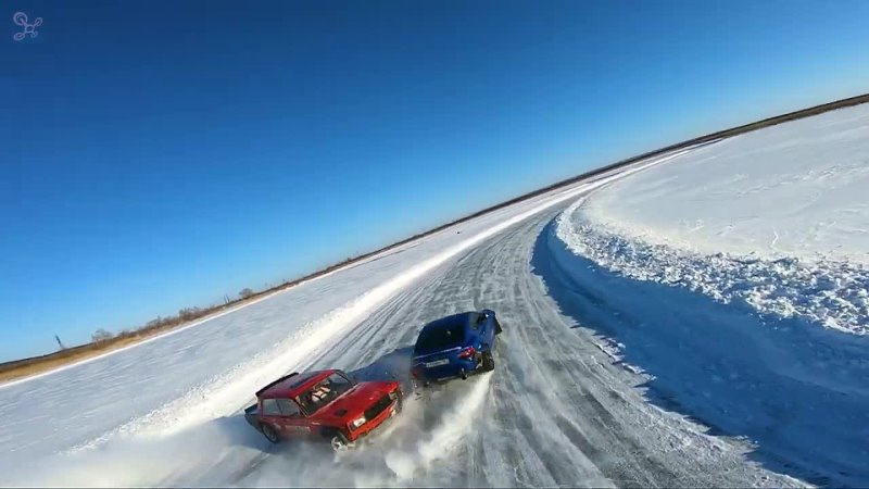 Subaru BRZ FPV Drone GoPro7 Epic drift crash