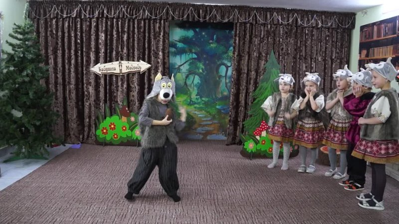 Отрывок из спектакля Самый маленький гном Студия юного актёра Позитив г Псков