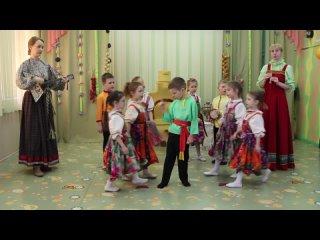 Детский сад №164 Был у бабушки коток. Русская народная песня.
