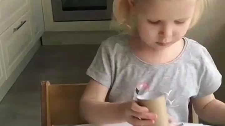 Милые котята с помощью отпечатков втулкой