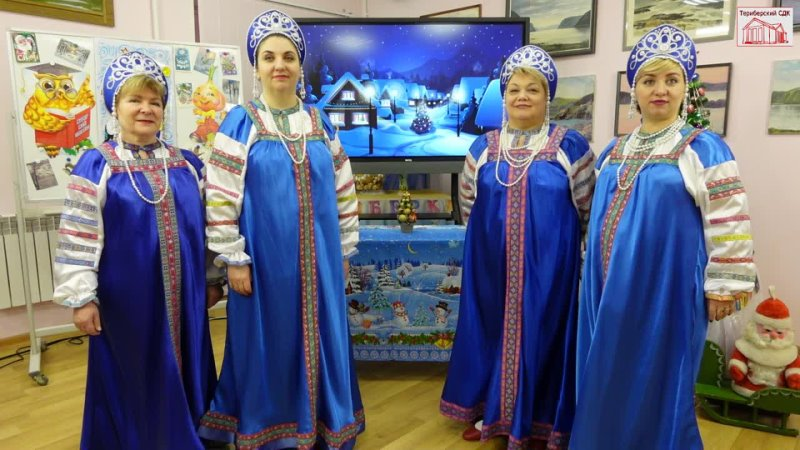 Зимняя песня (Н.Рубцов - Г.Заволокин) - группа Териберского поморского хора 2020