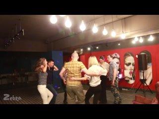САЛЬСА-РУЭДА на вечеринке / школа танцев ZebraDance (Миасс)
