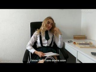 Студентка кончает на дополнительных занятиях MollyKelt [порно, хентай, секс, трахает, русское, инцест, домашнее]