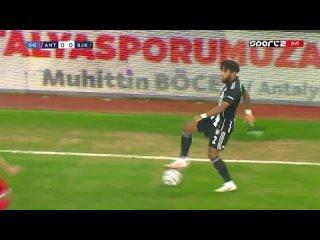 Чемпионат Турции 2020-21 23-й тур Антальяспор - Бешикташ 1 тайм
