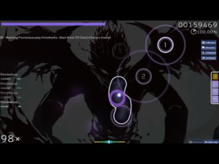 (Osu!) Vickeblanka - Black Rover