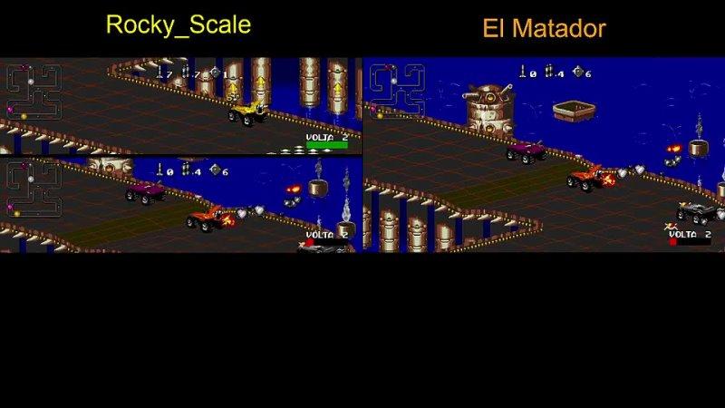 AB challenge Rocky Scale El Matador №5