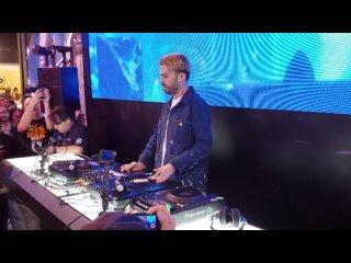 A-TRAK AT NAMM 2019 PIONEER DJ BOOTH