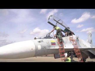 Су-30МК2V ВВС Венесуэлы с двумя тактическими ракетами Х-31
