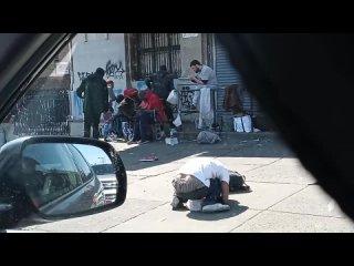 this is the View of kensington Avenue Philadelphia