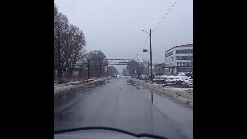 Дождь в феврале в Константиновке
