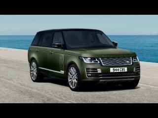 Первые фото нового Range Rover SV Autobiography Ultimate edition (2021)