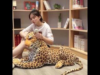 Ins сетка красная имитация леопардовая кукла плюшевая игрушка леопардовая черная пантера кукла подушка overwatch ститч джек
