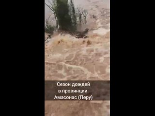 Наводнения в Перу глазами очевидцев