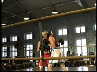 Юрий Балашов (Красный угол) - Дмитрий Салов 30 декабря 1995 года турнир памяти А.И. Понамарева г. Ковров