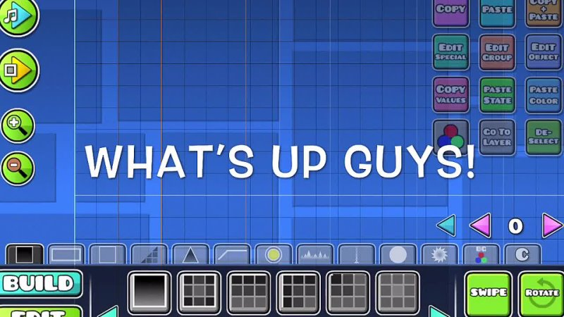 Slide GD How to Make a GOOD LAYOUT in Geometry Dash 2 13