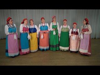 «Ветерочки, ветры тоненьки» - старинная поморская лирическая народная песня. Исполняет ансамбль  «Беломорье»