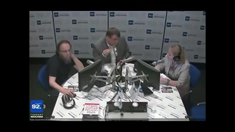 Россия уже оккупирована Евгений Федоров и Александр Дугин 19 06 2012