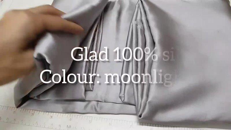 19 Лунный свет цвет 100% шёлк