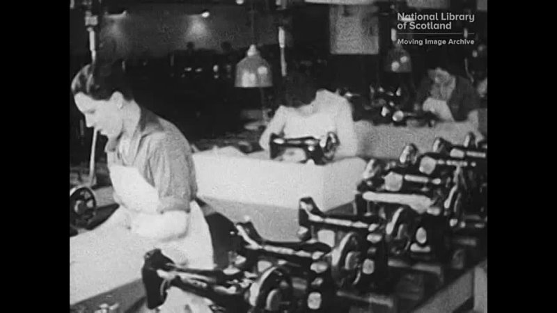 Singer Рождение швейной машины Шотландия 1934 год