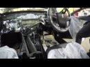Защита от угона Toyota Crown - Пример разбора салона для скрытной установки