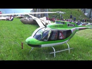 Радиомодели. Вертолет. JETRANGER