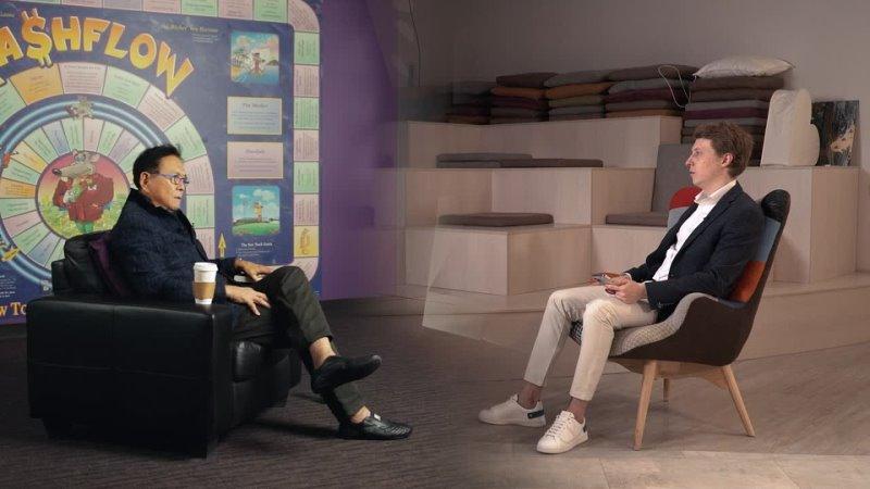 Роберт Кийосаки жёстко о бедном папе инвестиции в биткоин крах доллара мотивация Путин vs Байден