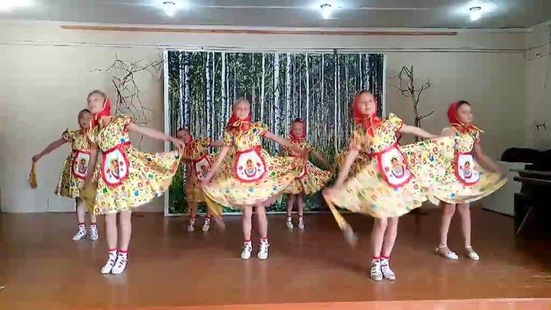 МУ ДО ИРМО Малоголоустненская ДШИ Экэденс Номер Русский народный танец Матрешки