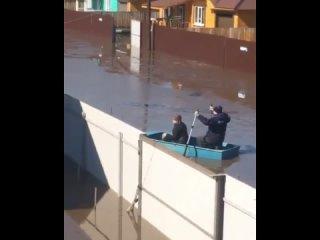 Наводнение в Хомутово (Иркутская область, 2 апреля 2021).