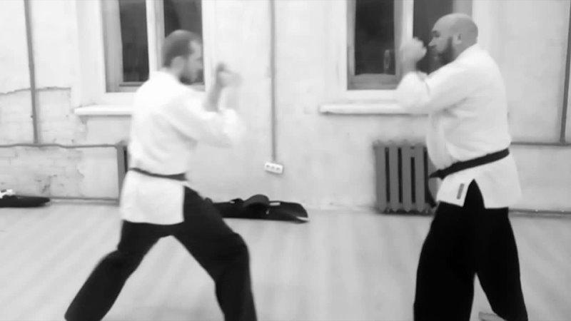 Martial arts Sinten gyaku hammi katate dori ryote dori seyken cki koshi nage Jiu Kumite 8