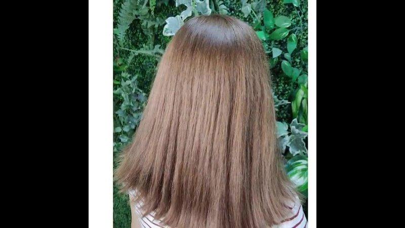 Окрашивание волос, выход из темного за 2 раза. noviale_haircolor noviale_haircut