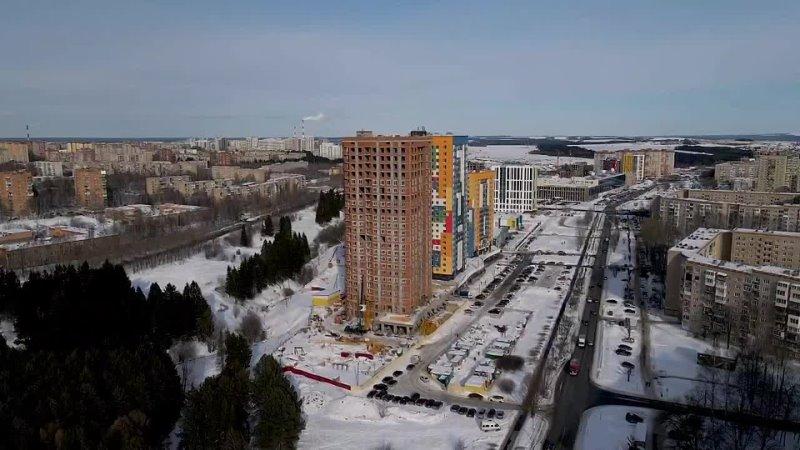 Жилые комплексы MatrËshka City и Ëлки mp4