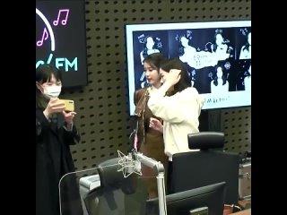 [RADIO] 210330 @ KBS Cool FM «Включай погромче с Кан Ханной» | IU + Кан Ханна