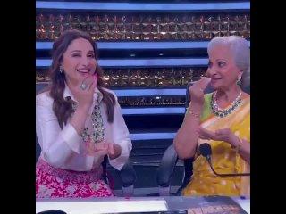 Мадхури и Вахида Рахман на телешоу  Dance Deewane 3 . (720p).mp4