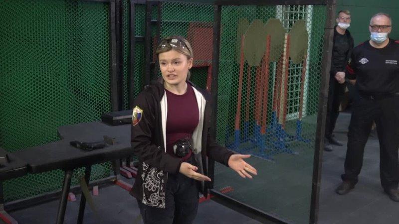 Софья Дрозденко провела для членов правительства региона мастер-класс по практической стрельбе
