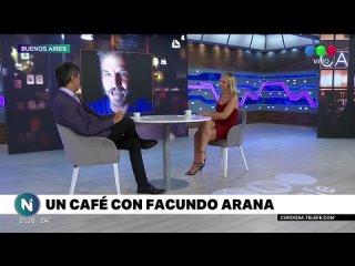 UN CAFÉ CON FACUNDO ARANA