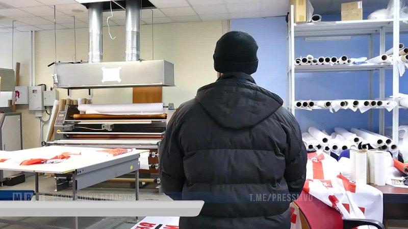 сотрудники ГУБОПиК МВД пресекли подпольное производство предметов с незарегистрированной символикой