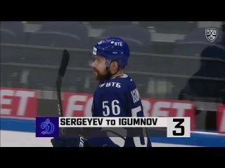ТОП-10 лучших голов второго раунда плей-офф КХЛ / 3 место — Иван Игумнов