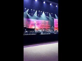 Тамара Гвердцители - репетиция накануне сольного концерта