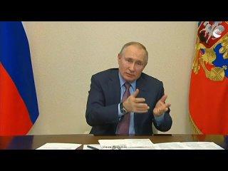 Путин о Навальном и незаконных акциях