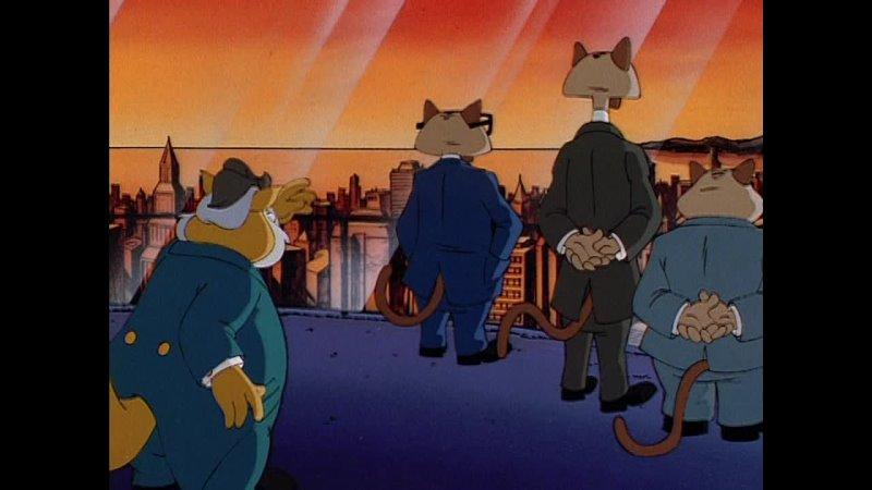 Коты быстрого реагирования Swat Kats The Radical Squadron Разрушительная природа 4 Серия 1 Сезон