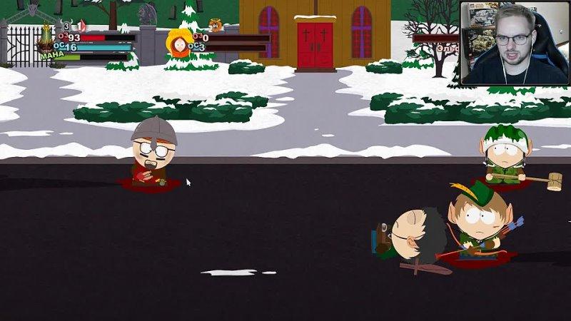 Vanco Play Сидим пердим с Принцессой Кенни Эп 4 South Park The Stick of Truth