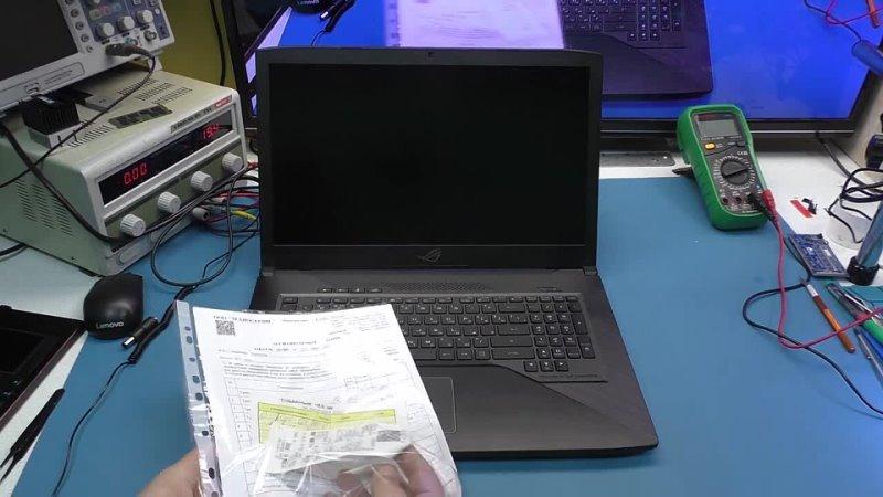 Ассоциация Сервисных Центров Компьютерный сервис с гопотёлками адская диагностика Asus Rog Strix доплата за воздух и почему