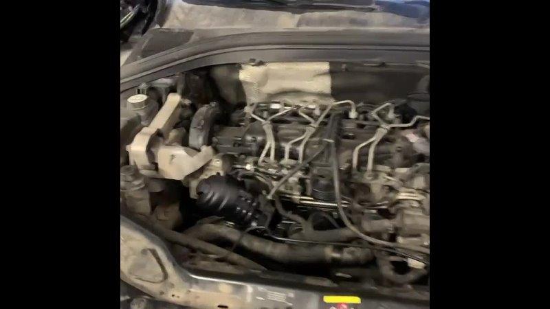 Техцентр Volvo Degrimotors Система рециркуляции карьерных газов очень серьезный момент в работе двигателя из за плохой циркул