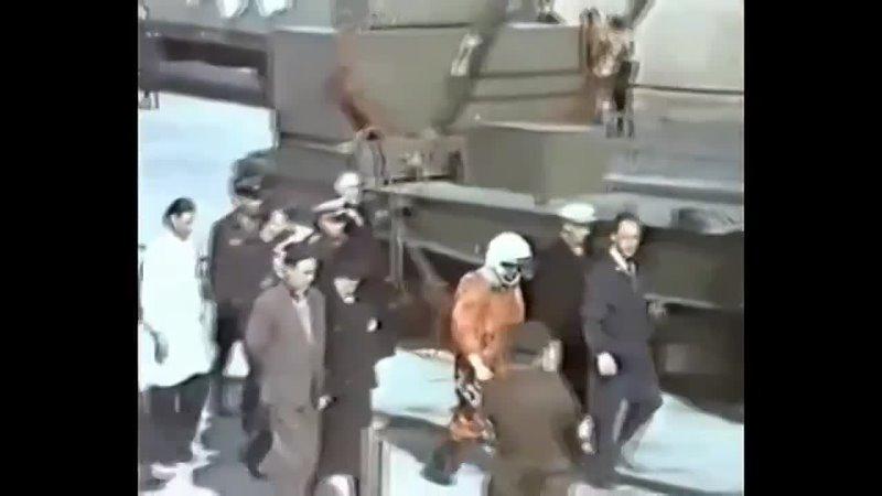 Старт корабля Восток с первым космонавтом Земли Ю А Гагариным
